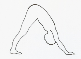 yoga pose to stop hair loss