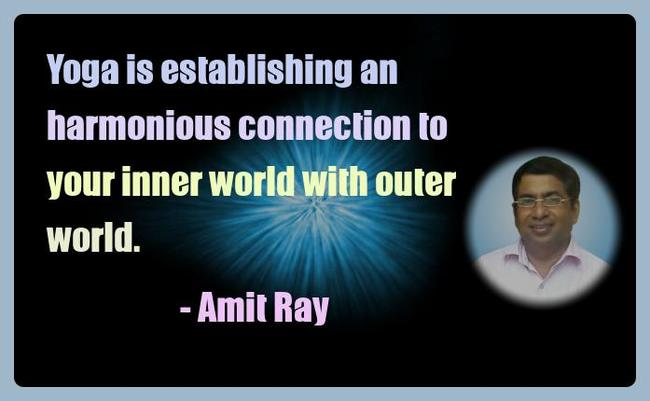Amit Ray Yoga Quotes - Yoga is establishing an harmonious