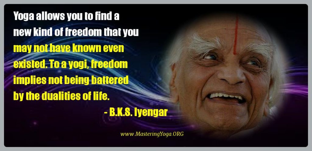 b.k.s. iyengar picture quote