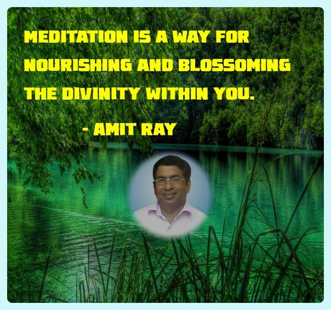 Meditation for aura cleansing - Amit Ray Quotes